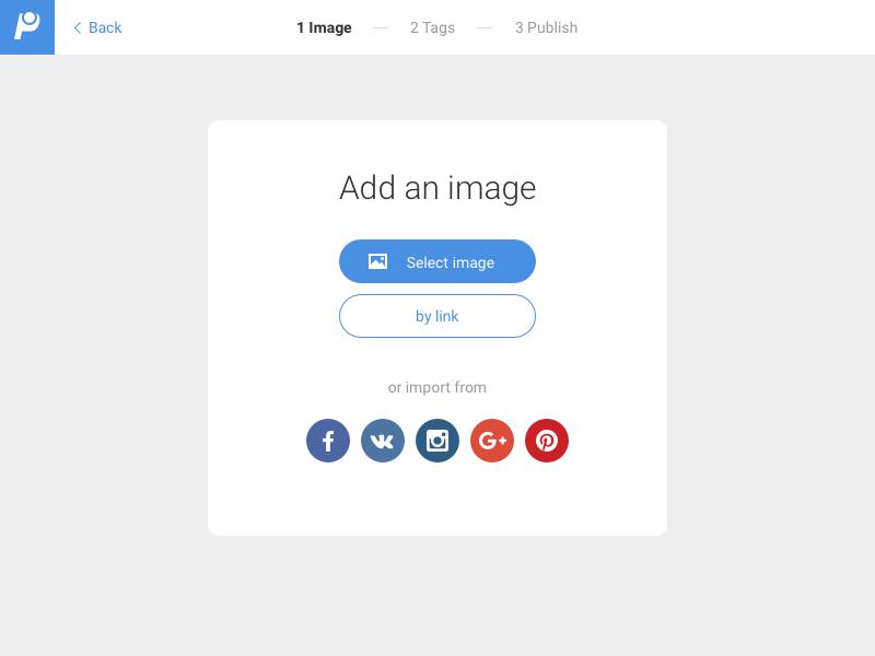 Add image form