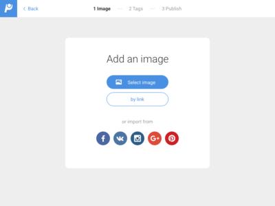 Add Image sketch form web