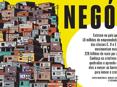 Você S/A Magazine brazil house favela