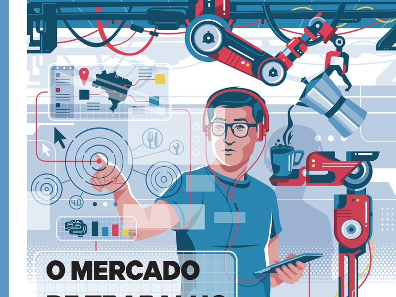 Senai - Exame Magazine screen robots machine