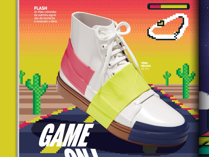 GQ Magazine 16bit 8bit pixelart pixel fashion gq