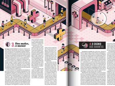 Superinteressante Magazine machine kids isometric