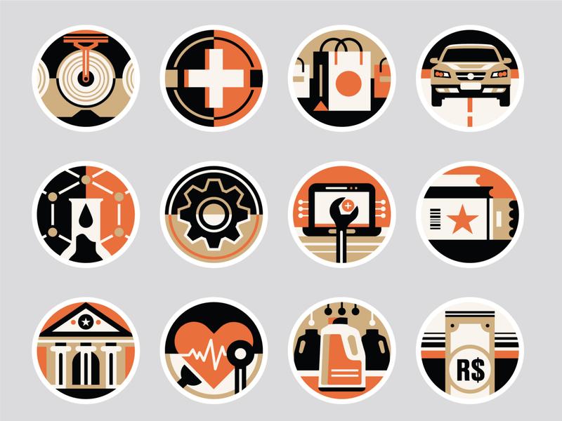 Você S/A Magazine - Icons set icons set icons pack icons