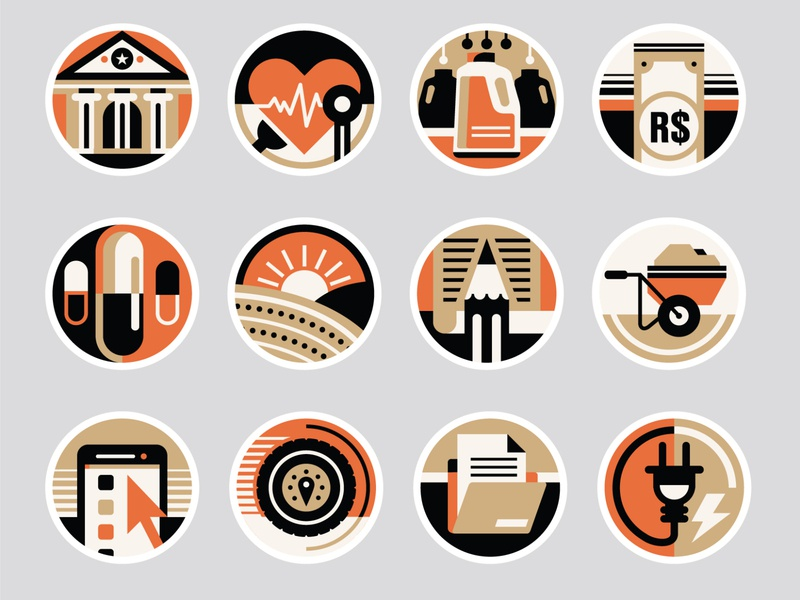 Você S/A Magazine - Icons set icons pack iconset logo icons