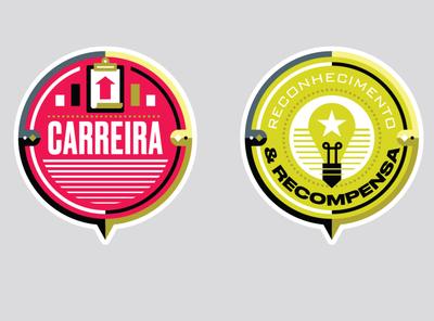 Você S/A Magazine - MEPT badges badge logo stamp badge