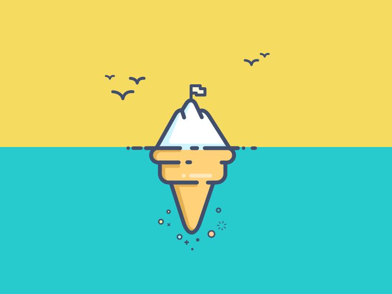 Snow And Ice Cream