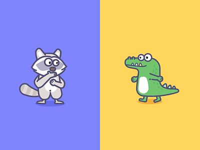 The Raccoon And Crocodiles