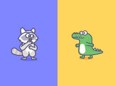 The Raccoon And Crocodiles