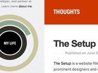 Blog redone