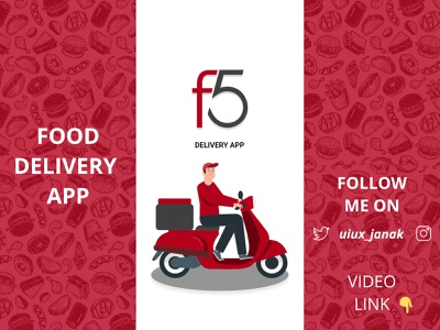 Food Delivery App wireframes adobe xd application app design food illustration food and drink food app clean flat figma dribbble app ux ui design