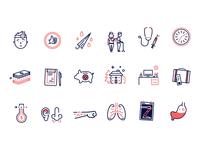 Dispatch Heath - Healthcare Icons