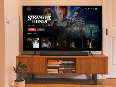 Netflix Landing Page for a Splendid Entertainment Experience web template ui development web development webdesign landing design netflix landing page netflix