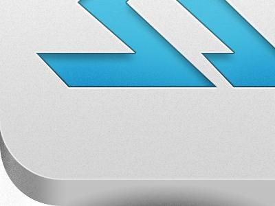 Skilled Athlete App Icon, final ios app iphone icon