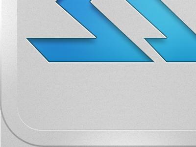 Skilled Athlete App Icon, final-ish iphone app icon iconography ios