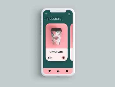 Coffee Ordering App coffe app design app design ux uxdesign ui uidesign uiux