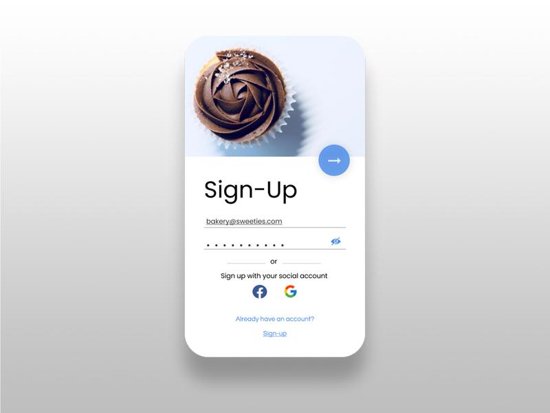 Design Challenge Day- 03 bakery design app design app uxdesign ux uiux uidesign ui 10ddc