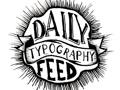Daily Typography Feed typography feed daily lettering handletter design illustration challenge