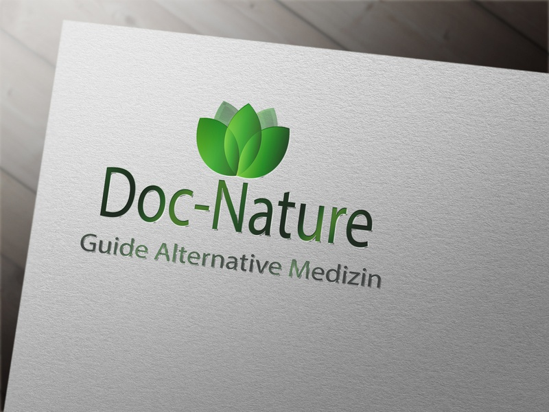 Логотип альтернативная медицина бренд icon herb логотип typography branding vector design logo web