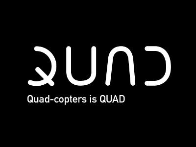 Q #2 Logo flat vector typography minimal logo