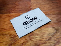 Grow Apparel Tag