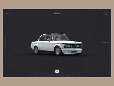 Bmw 2002 ux web design web design ui