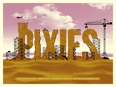 Pixies Poster - Finished Art