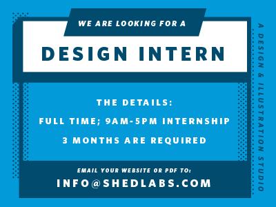 Shed internship
