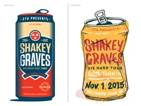 A or B? Gig Poster Decision 2015