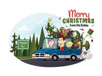 Cobb Family Christmas Card