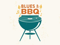 Blues & BBQ Graphic