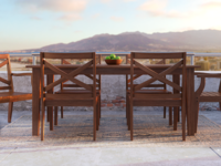 Teak Outdoor Dining Set