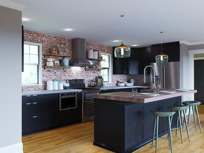 Kitchen Rendering 00684