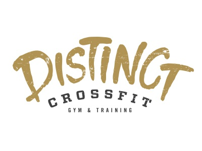 Distinct Crossfit Logo option