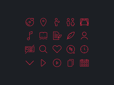 takt1 ・ typography &icon set webdesign identitydesign
