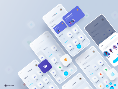 MyCloud App - MVP mvp share upload documents online store online folder management app managment storage cloud ux design ui design mobile app mobile ios app design ios ios app app design app