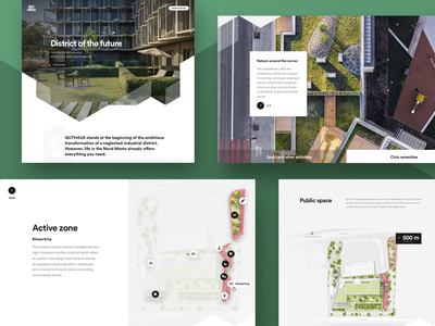 GUTHAUS website website design website web uxdesign uidesign uiux ui flatdesign flat developer detail design apartment design architecture apartment