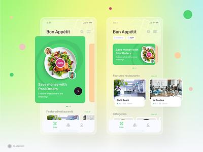 Bon Appétit - App delivery chef mobile app mobile ui service food delivery ios app productdesign product design icons design ux design ui design ui ux app food food app