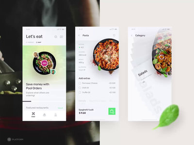 Food App pizza ui design ux uiux ui icons product design productdesign ios app service mobile app app clean restaurant food delivery food app food chef delivery