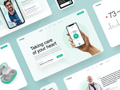 WearLinq mobile app mobile ui web webdesign website design interface mvp prototype doctor appointment health app healthcare uidesign website builder doctor doctor app ehealth webdesig website