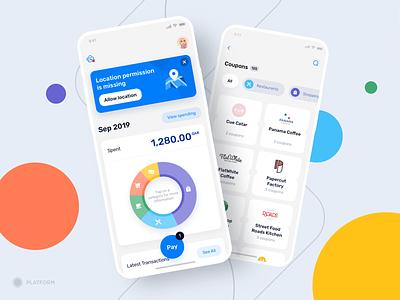SkipCash ux design ui design cashback split finance services bank app mobile app payment money finance uidesign uiux ux ui