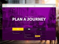 Transport for London website concept
