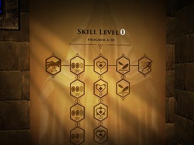 VR Game - Skill Tree UI