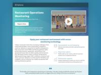 OpSense Landing Page