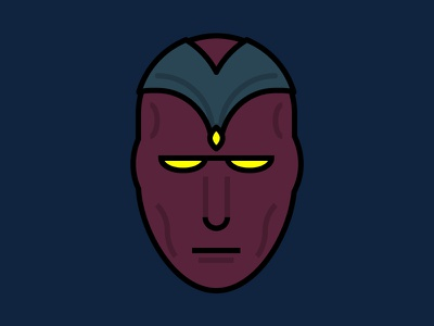 Well, I Was Born Yesterday vector superhero ultron avengers vision adobe illustrator