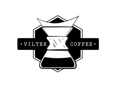 Logo 'Vilter Coffee' (concept) sketch simple print mark logo coffee identity clean barista branding brand