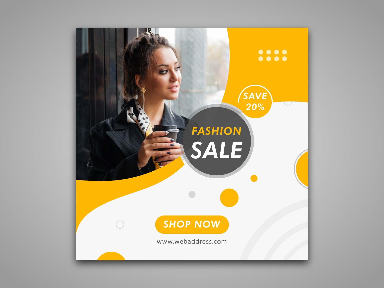 Fashion Sales Banner For Web Or Social Media By Md Atiqur Rahman On Dribbble