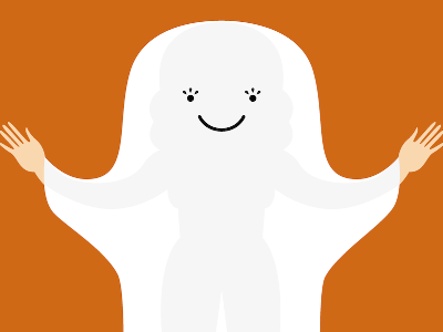 Day Ten: Ghost ghost costume halloween cute