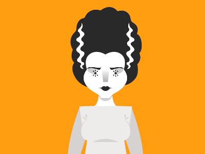 Day Eleven: Bride of Frankenstein frankenstein bride monster halloween costume bride of frankenstein