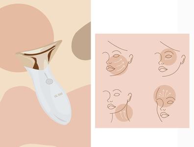 L&L brand product illustration digital illustration branding vector design illustration