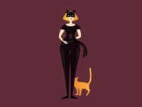 Hello, this is me and I'm cat misstress